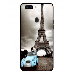 Oppo R11s Vintage Eiffel Tower Case