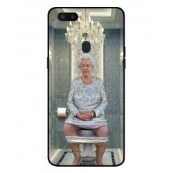 Oppo R11s Her Majesty Queen Elizabeth On The Toilet Cover