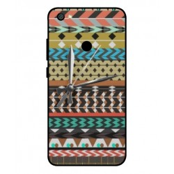 Xiaomi Redmi Y1 Mexican Embroidery With Clock Cover