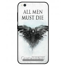 Xiaomi Redmi 5a All Men Must Die Cover