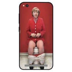 Xiaomi Redmi 5a Angela Merkel On The Toilet Cover