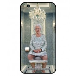 Xiaomi Redmi 5a Her Majesty Queen Elizabeth On The Toilet Cover