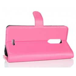 Alcatel A3 XL Pink Wallet Case