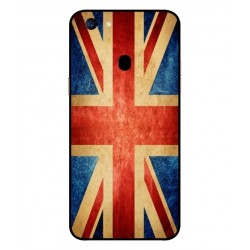 Coque Vintage UK Pour Oppo F5