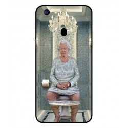 Oppo F5 Her Majesty Queen Elizabeth On The Toilet Cover