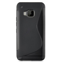 Black Silicone Protective Case HTC One S9