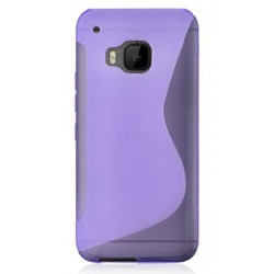 Purple Silicone Protective Case HTC One S9