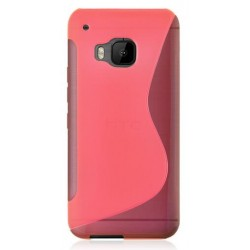 Pink Silicone Protective Case HTC One S9