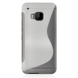 White Silicone Protective Case HTC One S9