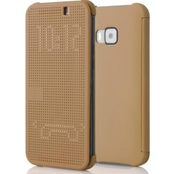 Gold LED View Cover For HTC One S9
