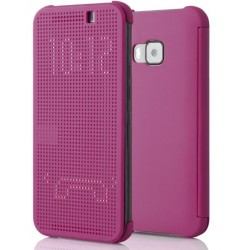 Pink LED View Cover For HTC One S9