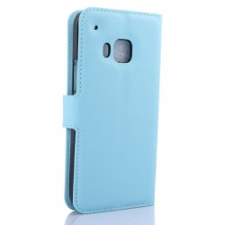 HTC One S9 Blue Wallet Case