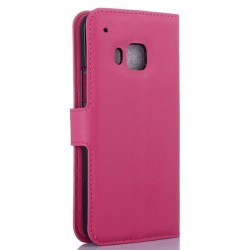 HTC One S9 Pink Wallet Case