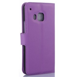 HTC One S9 Purple Wallet Case