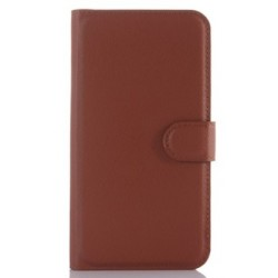 HTC One S9 Brown Wallet Case