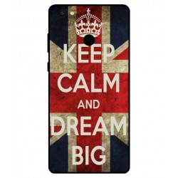 Gionee M7 Power Keep Calm And Dream Big Cover