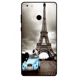 Gionee M7 Power Vintage Eiffel Tower Case