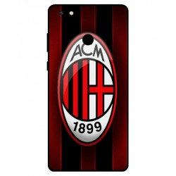 Gionee M7 Power AC Milan Cover