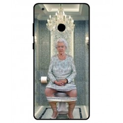 Gionee M7 Power Her Majesty Queen Elizabeth On The Toilet Cover