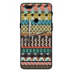 OnePlus 5T Mexican Embroidery With Clock Cover