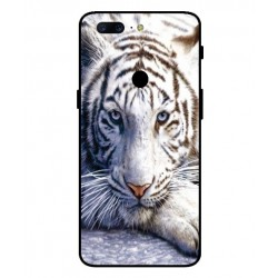 Coque Protection Tigre Blanc Pour OnePlus 5T
