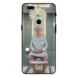 OnePlus 5T Her Majesty Queen Elizabeth On The Toilet Cover