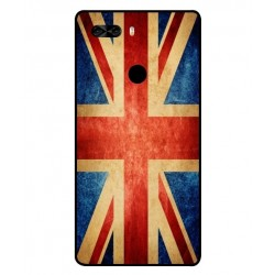 Coque Vintage UK Pour Archos Diamond Omega