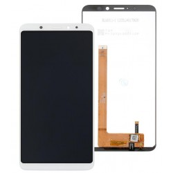 White Wiko View XL Complete Replacement Screen