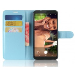 Wiko View XL Blue Wallet Case