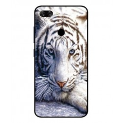 Asus Zenfone Max Plus M1 White Tiger Cover