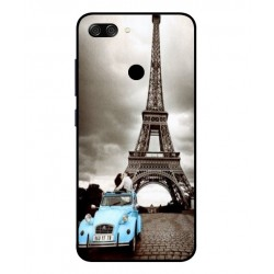 Asus Zenfone Max Plus M1 Vintage Eiffel Tower Case