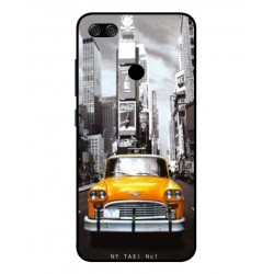 Asus Zenfone Max Plus M1 New York Taxi Cover