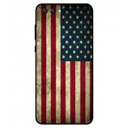 Coque Vintage America Pour Huawei Honor View 10