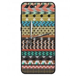 Coque Broderie Mexicaine Avec Horloge Pour Huawei Honor View 10