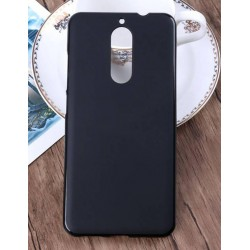 Black Silicone Protective Case Huawei Honor 7X