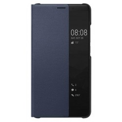 Blue S-view Flip Case For Huawei Mate 10