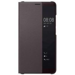 Brown S-view Flip Case For Huawei Mate 10