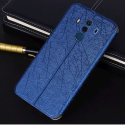 Huawei Mate 10 Porsche Design Blue Flip Leather Case