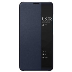 Etui Protection S-View Cover Bleu Pour Huawei Mate 10 Pro