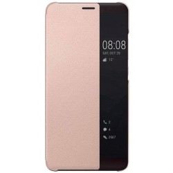 Pink S-view Flip Case For Huawei Mate 10 Pro