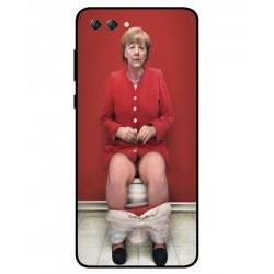 Huawei Nova 2s Angela Merkel On The Toilet Cover