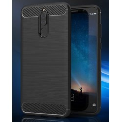 Black Silicone Protective Case Huawei Mate 10 Lite