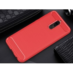 Red Silicone Protective Case Huawei Mate 10 Lite