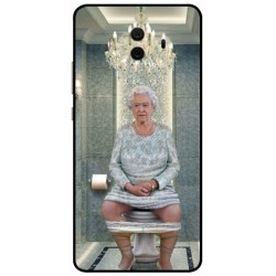Huawei Mate 10 Her Majesty Queen Elizabeth On The Toilet Cover
