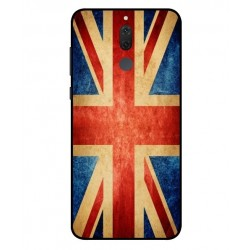 Coque Vintage UK Pour Huawei Mate 10 Lite