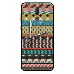Coque Broderie Mexicaine Avec Horloge Pour Huawei Mate 10 Lite