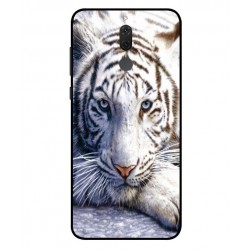 Coque Protection Tigre Blanc Pour Huawei Mate 10 Lite