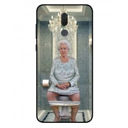 Huawei Mate 10 Lite Her Majesty Queen Elizabeth On The Toilet Cover