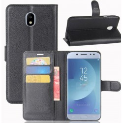 Samsung Galaxy J3 (2017) Black Wallet Case