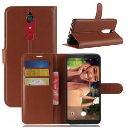 Samsung Galaxy J3 (2017) Brown Wallet Case